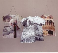 "Shelly Goldsmith ~ ""No Escape: Reclaimed dresses from the Children's Home of Cincinnati"" (2000) via Axisweb"