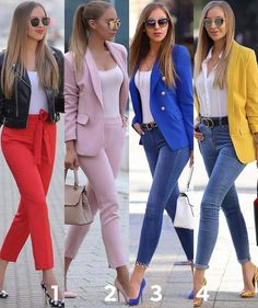 fashion ideas for women,fashion ideas for work,fashion ideas casual,unique fashion ideas Classy Business Outfits, Trajes Business Casual, Classy Outfits, Stylish Outfits, Emo Outfits, Summer Work Outfits, Professional Outfits, Casual Winter Outfits, Trend Fashion
