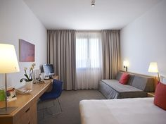 Novotel Sant Joan Despí - Located next to the entrance to Barcelona in the uptown part of the city, this four-star hotel is conveniently situated next to the bus stop for Barcelona-El Prat Airport and the metro station and tram stop for the centre of the Catalonian capital #BCNmoltmes #Accommodation #BCNHotels