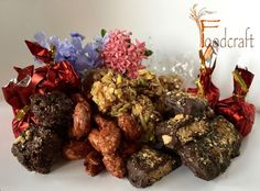 Our range of flavoured and Belgian chocolate coated mixed nuts
