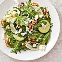 BHG's Newest Recipes:Shaved Fennel Salad with Dill, Arugula, and Walnuts Recipe