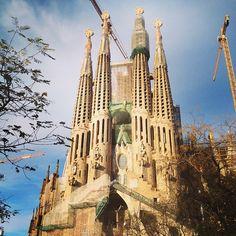 La Sagrada Familia. #Barcelona #churches