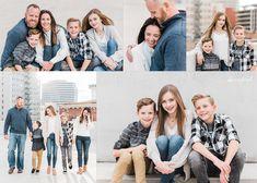 Urban Family Session in Spokane, WA by KC England Photography. Family Photo Colors, Family Photo Outfits, Family Photo Sessions, Urban Photography, Family Photography, Photography Poses, Nature Photography, Family Portrait Poses, Family Posing
