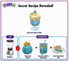 Recipe Revealed - Goo-Goo Berry Float