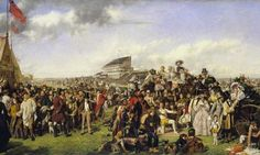 William Powell Frith: 'Derby Day' 1856-58