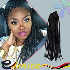 Find More Bulk Hair Information about Top Quality Best Price Faux Locs Dreads…