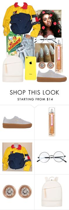 """""""All day-Trevor Jackson"""" by zarweyah ❤ liked on Polyvore featuring Puma, Ron Hami and Want Les Essentiels de la Vie"""