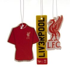 ONTRAD Limited Official Liverpool FC Car Air Freshener (3 Pack) - A Great Gift / Present For Men, Sons, Husbands, D Make your car smell great and show your support for your favourite team (Barcode EAN = 5055815201871). http://www.comparestoreprices.co.uk/december-2016-3/ontrad-limited-official-liverpool-fc-car-air-freshener-3-pack--a-great-gift--present-for-men-sons-husbands-d.asp