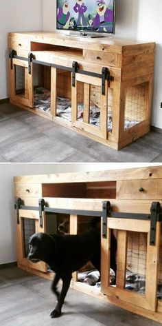 Use Pallet Wood Projects to Create Unique Home Decor Items – Hobby Is My Life Pallet Crafts, Diy Pallet Projects, Wood Projects, Furniture Projects, Pallet Dog House, Build A Dog House, Wood Dog House, Cheap Dog Houses, Home Decor Items