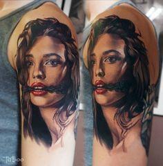 Découvrez les tatouages incroyablement réalistes de Valentina Ryabova !