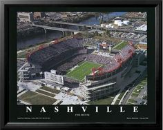 Tennessee Titans LP Field - This picture is hanging in my office!  :)