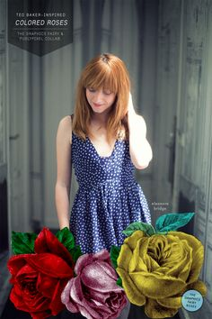 colored roses: a photoshop tutorial // pugly pixel & the graphics fairy // awesomesauce.