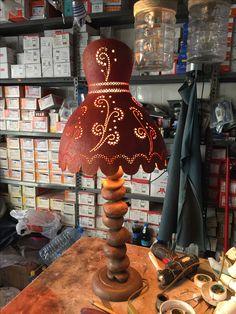 Gourd Lamp, Garden Yard Ideas, Gourds, Lanterns, Decorative Lamps, Gourd Crafts, Lights, Home Decor, Decorated Bottles