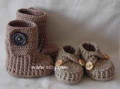 Crochet baby shoes and booties choose your colours by margarita779, $31.00