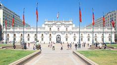 Palacio de La Moneda (Santiago de Chile).