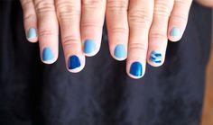 Ombre et Braided Nails avec China Glaze sur Bec et Ongles