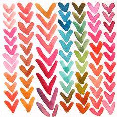 love this watercolor heart print Textures Patterns, Print Patterns, Pattern Print, Palette Pastel, Watercolor Heart, Watercolour, Simple Watercolor, Watercolor Pencils, Color Studies