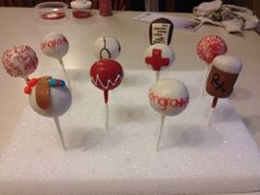 Nursing Cake Pops