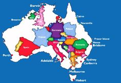 Australia is a big continent. Don't ask me to go from Melbourne to Darwin or Perth just for a 5 minutes meeting with 10 minutes notice!!!