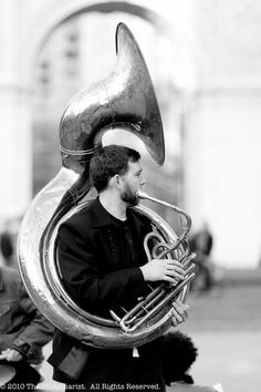 Sousaphone is so much fun, yet very difficult, to play.