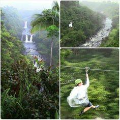 ✔ Zip Line -  Umauma Falls - Big Island - Hawaii