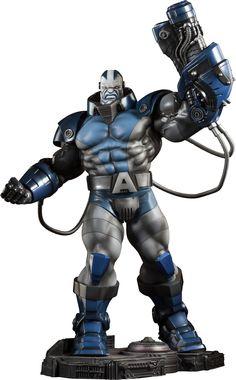 Apocalypse Premium Format Figure is Sideshow Collectibles X-Men villain for fans of Marvel Comics Coleccionables Sideshow, Sideshow Collectibles, Marvel Statues, Custom Action Figures, Marvel Vs, Comic Book Artists, Marvel Legends, Marvel Characters, Cool Toys