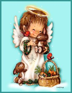 """Holly Angel""© Ladybug Creations."