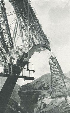 1903-1905 Victoria Falls Bridge sur le Zam