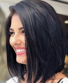 Bob Style Natural Straight Human Hair Lace Front Wig 16 Inches E corte delaware cabelo Short Hairstyles For Thick Hair, Medium Bob Hairstyles, Wig Hairstyles, Short Hair Cuts, Lace Front, Medium Hair Styles, Curly Hair Styles, Longbob Hair, Human Hair Wigs