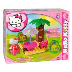 Bouw je eigen 14-dlg picknick set van Hello Kitty en ga lekker samen snacken in de zon! Geschikt voor kinderen van 1,5 - 5 jaar. Afmeting: verpakking 20,5 x 16 x 8 cm - Hello Kitty Unico Picknick