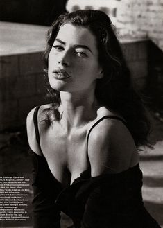 Carré Otis was a sexier, darker, more soulful Cindy Crawford and was a much better model too. Natalia Vodianova, Cindy Crawford, Claudia Schiffer, Heidi Klum, Lily Aldridge, Vintage Photography, Fashion Photography, Photography Women, Estelle Lefébure