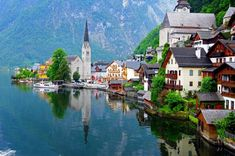 Postcards from picturesque Hallstatt Which is your favourite one? - Best Places to Visit X Places In Europe, Places To Travel, The Places Youll Go, Places To See, Destinations D'europe, Amazing Destinations, Beau Site, Voyage Europe, Destination Voyage