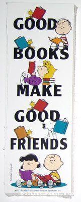 Peanuts Bookmarks | CollectPeanuts.com - Peanuts Gang Reading