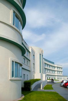The Midland Hotel in Morecambe, built in the streamline moderne style of art deco. Available as an art print through Fine Art America. Stella Art, Art Nouveau, Midland Hotel, Miami Art Deco, Large Art Prints, Morecambe, Streamline Moderne, Art Deco Movement, Hercule Poirot