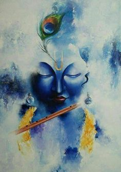 Ganesha Painting, Lord Shiva Painting, Buddha Painting, Buddha Art, Radhe Krishna Wallpapers, Lord Krishna Hd Wallpaper, Arte Krishna, Krishna Radha, Radha Krishna Paintings