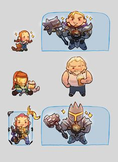Brigitte and Reinhardt from Overwatch Overwatch Comic, Overwatch Video Game, Overwatch Memes, Overwatch Fan Art, Overwatch Drawings, Brigitte Overwatch, Brigitte Lindholm, Overwatch Wallpapers, Fanart