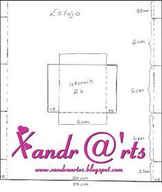 Atelier Xandra Artes: Passo a Passo Estojinho de EVA com Zíper