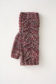 Mock Cabled Mitts - I Like Knitting