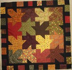 Thru The Woods | Fall/Autumn Quilts | Pinterest | Autumn quilts : free autumn quilt patterns - Adamdwight.com