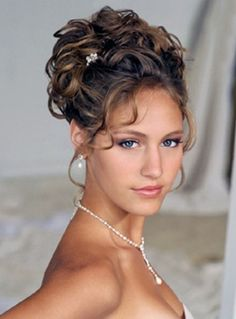 Bridal hairstyles, long hair and collected