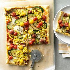 Garden Vegetable Tart