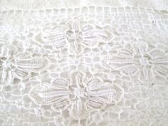 Vintage Netted Lace by JustMakeLemonade on Etsy, $12.50