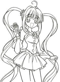 605 Meilleures Images Du Tableau Coloriage Manga Coloring Pages