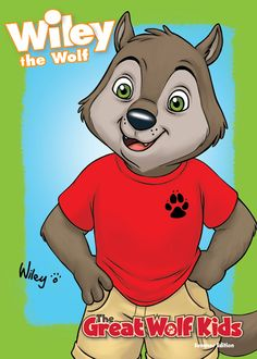 Collect Wiley, along with the rest of the Great Wolf Kids trading cards at Great Wolf Lodge. Golden Birthday, 10th Birthday, Birthday Ideas, Wolf Kids, Play And Stay, Great Wolf Lodge, Kids House, Trading Cards, Coloring Pages