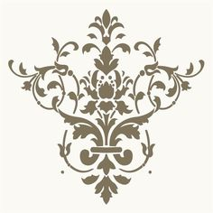 stencil design ideas | Wallpaper stencils are easy and fun to use for decorating your walls ...