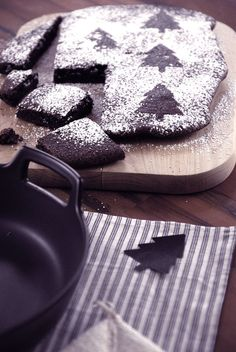 Holiday Brownies.
