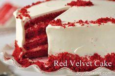 Versions gourmandes et plus si affinités: Le Red Velvet Cake : Un beau diable en culottes de velours.