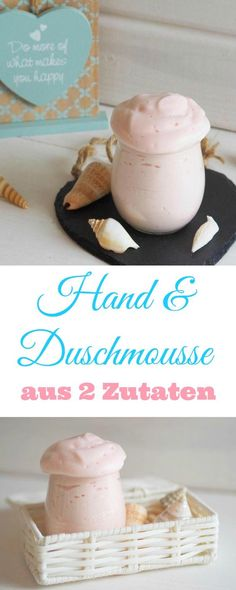 DIY: fragrant hand & shower mousse made from two ingredients An absolute DIY . - DIY: fragrant hand & shower mousse made from two ingredients An absolute DIY hit from ho - Mousse, Makeup For Teens, Diy For Teens, Teen Diy, Shampooing Diy, Belleza Diy, Bath Bomb Recipes, Yummy Recipes, Homemade Cosmetics