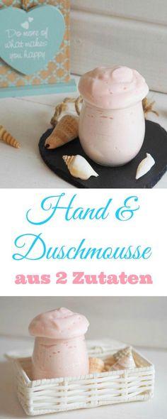 Ein absoluter DIY Knaller aus der selbst gemachten Kosmetik. Ein duftendes Hand & Duschmousse, welches eigentlich nur aus 2 Zutaten besteht, nämlich Wasser und einer reinen veganen Pflanzenölseife. Ka (Diy Beauty)