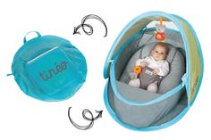 Protect your baby from the sun, bugs, wind, and more with the breathable Tineo Pop Up Tent that pops up in seconds and easily folds into a compact bag. The ideal solution for taking your baby on outdoor activities. Bring Up A Child, Baby Gadgets, Baby Checklist, Beach Gear, T Baby, Pop Up Tent, Tummy Time, Traveling With Baby, Baby Time